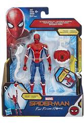 Spiderman Far From Home Figura 15 cm. com Acessório Hasbro E3547