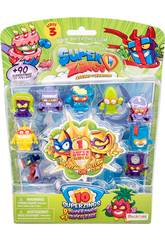 Superzings Blister 10 Figuren Serie 3 Magic Box Toys PSZ3B016IN00