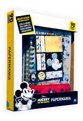 Agenda Mickey Mouse 90. Jahrestag Papermania mit Zubehör Cife 41349