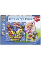 Puzzle Paw Patrol 3x49 Peças Ravensburger 8036