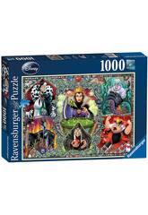Puzzle Méchantes de Disney 1.000 Pièces Ravensburger 19252
