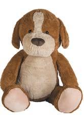 Peluche Cachorro Marrom Jumbo 140 cm. Llopis 10072