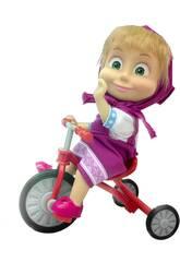 Masha et l'Ours Masha avec un Tricycle Simba 9302059