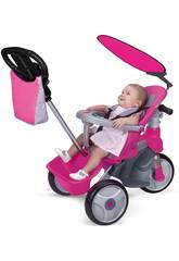 Tricycle Baby Trike Easy Evolution Rose