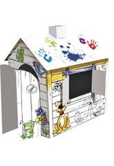 Maison de Dessin 3D à Colorier