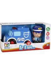 Camion de Pompiers avec Figurine