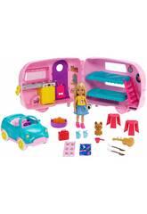 Barbie Caravana De Chelsea Mattel FXG90