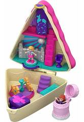 Polly Pocket Cofre Tarta de Cumple Mattel GFM49