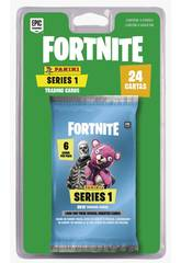 Fortnite Blister 4 Envelopes Trading Cards Series 1 Panini 201012BLIE