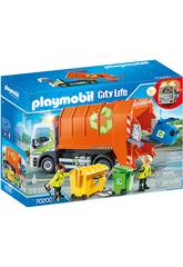 Playmobil City Life Camion della raccolta differenziata 70200
