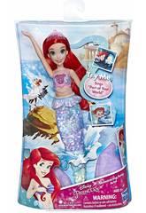Boneca Princesas Disney Ariel Música hasbro