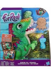 FRR Peluche Dinosaure Rex Mangeur Hasbro E0387