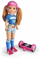 Nancy Un Jour Avec Mon Hoverboard Famosa 700015134