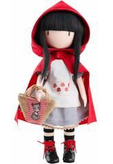 Gorjuss de Santoro Muñeca 32 cm. Little Red Riding Hood Paola Reina 4917