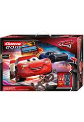 Circuito Cars Neon Nights 5,3 M. 2 Veicoli Saetta e Storm Stadlbauer 62477