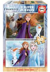 Puzzle 2x50 Frozen 2 Educa 18086