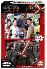 Puzzle 2x100 Star Wars Épisode 9 Educa 18359