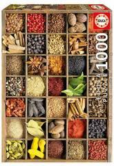 Puzzle 1.000 Especiarias do Mundo Educa 15524