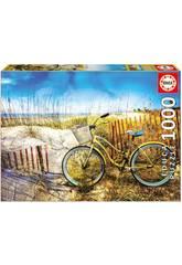 Puzzle 1.000 Vélo dans les Dunes Educa 17657