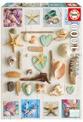 Puzzle 1.000 Collage De Caracolas Educa 17658