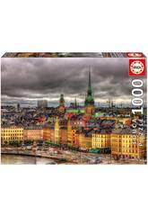 Puzzle 1.000 Vistas De Estocolmo Educa 17664
