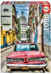 Puzzle 1.000 Voiture à La Havane Educa 16754