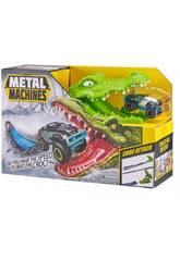 Metal Machines Croc Attack con Veicolo di Metallo Zuru 11008023