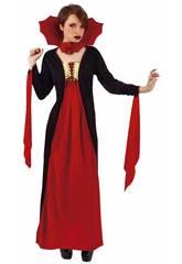 Costume Donna Vampiro Gotica rossa Rubies S8365