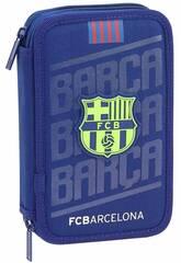 Astuccio Doppio F.C. Barcelona 28 Parti Safta 411826854