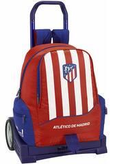 Sac à Dos avec Chariot Evolution Atlético Madrid Safta 611845860