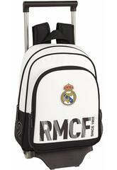 Mochila con Carro 705 Real Madrid 1ª Equipación Safta 611854020