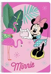 Libreta Folio Tapas Duras 80 h. Minnie Safta 511912066