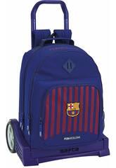 Mochila con Carro Evolution F.C. Barcelona Safta 611829862
