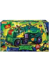Tortues Ninja The Rise Of The Tmnt Turtle Tank Giochi Preziosi TUAB6101