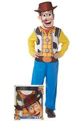 Disfarce Infantil Woody com Máscara Tamanho L Rubie's 300441-L