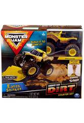 Monster Jam Kinetic Dirt Starter Set Bizak 6192 5875