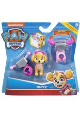 Paw Patrol Pack di Azione Pup And Badge Bizak