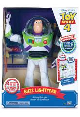 Toy Story 4 Buzz Lightyear Super Interattivo Bizak 61234432