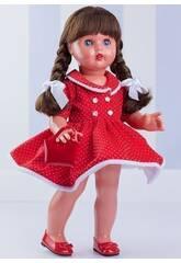 Rotes Kleid Weiße Punkte Mariquita Pérez MP20230