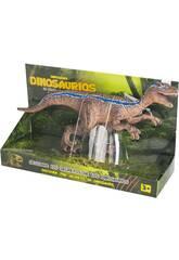 Velociraptor Striscia Blu 31 cm