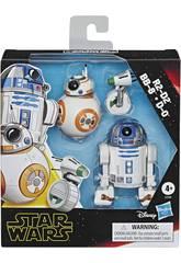 Star Wars Episodio 9 Pack Deluxe Droidi Hasbro E3118