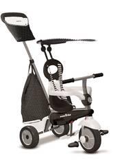 Triciclo Vanilla Plus Negro y Blanco SmarTrike 6654200