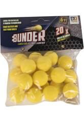 Balles Bunder 2.2 cm. Pour Lanceur de Balles 20 Unités