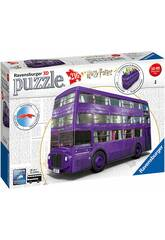 Puzzle 3D Autobús Noctámbulo Harry Potter Ravensburger 11158