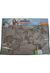 Tapis Pour Colorer Dinosaures