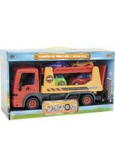 Camion Infantile con 4 Automobili
