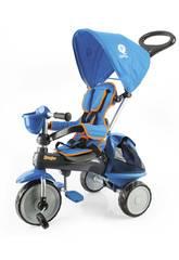 Tricycle Ranger 3 en 1 Bleu avec Capote QPlay T120