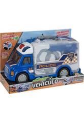 Maletín Camión Policía