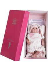 Bambola Il Mio Piccolo Reborn Pelón 42 cm. Berretto Dormiglione Berbesa 4551
