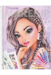 TopModel Make Up Colouring Book 10728